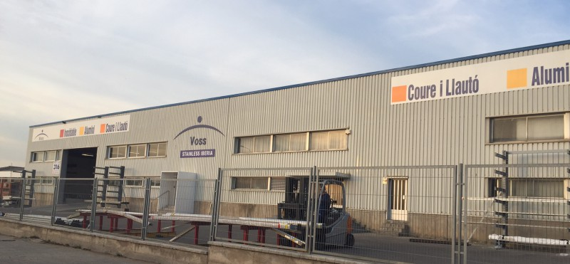 Voss stainless iberia moves to a new facility
